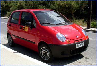 DAEWOO MATIZ ARAMIS RENT A CAR SAMOS CLICK TO ENLARGE