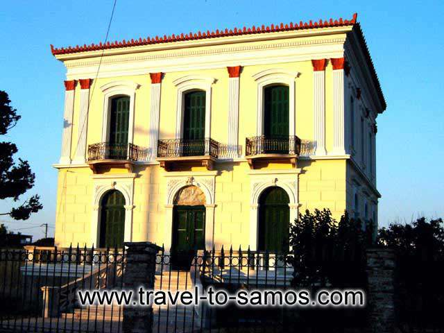 SAMOS TOWN Image of a Mansion for Sale CLICK TO ENLARGE