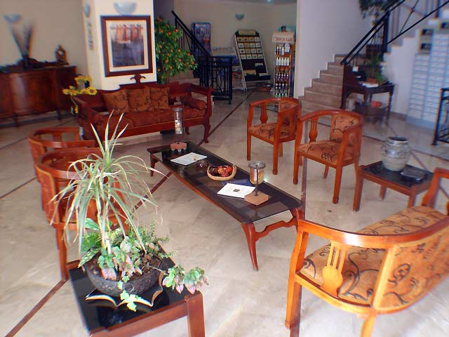 GAGOU BEACH Image of the Lobby CLICK TO ENLARGE