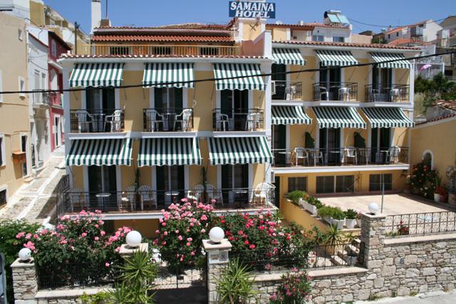 SAMAINA HOTEL  HOTELS IN  PYTHAGORION SAMOS
