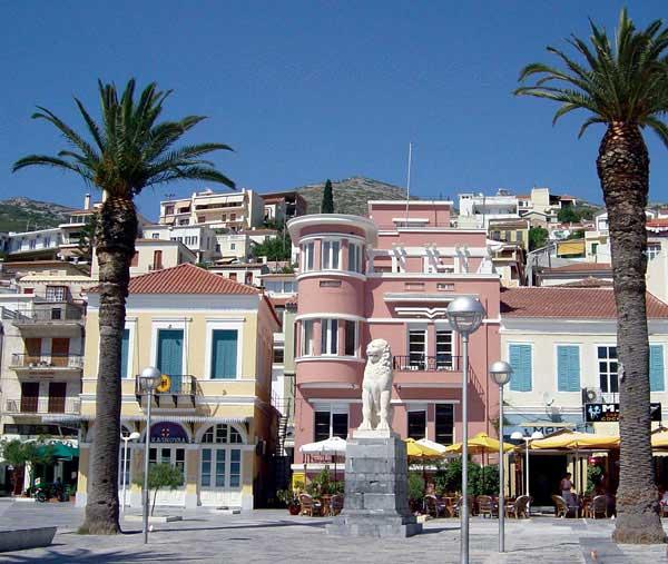 PYTHAGORAS SQUARE - VATHI - SAMOS TOWN SAMOS GREECE