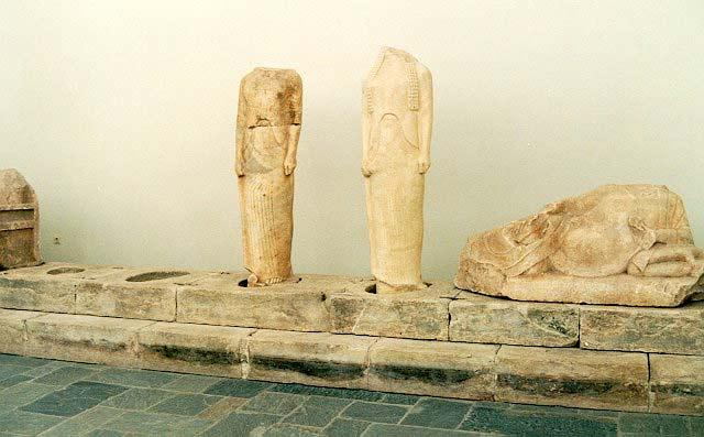 Geneleos Group Archaeological Museum Samos Greece