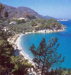 Samos Beaches Northeastern